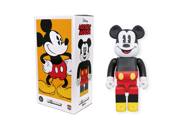 Medicom Toy 400% Bearbrick - Disney Mickey Mouse Be@rbrick Figure