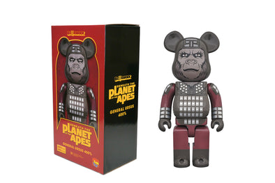 Medicom Toy 400% Bearbrick - Planet of the Apes: General Ursus Be@rbrick