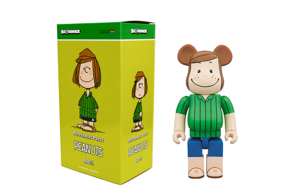 Medicom Toys 400% Be@rbrick - Peanuts: Peppermint Patty Bearbrick Figure