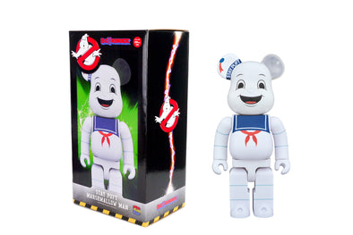 Medicom Toy 400% Bearbrick - Ghostbusters: Stay Puft Marshmallow Man Be@rbrick