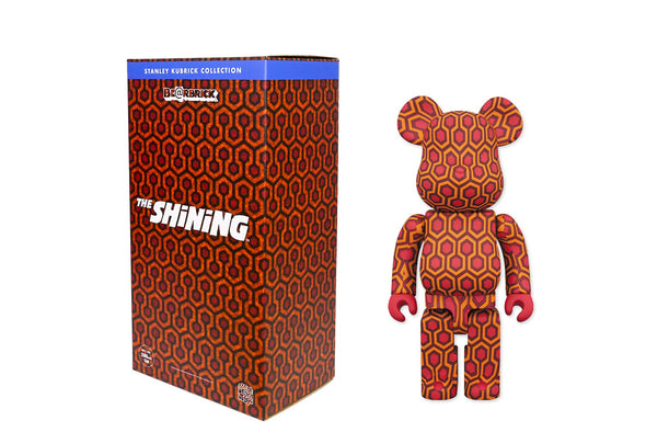 Medicom Toy 400% Bearbrick - The Shining: Overlook Hotel Carpet Pattern Be@rbrick