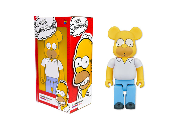 Medicom Toy 400% Bearbrick - The Simpsons: Homer Simpson
