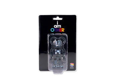 100% Bearbrick - I Am Other (Think Other) Black