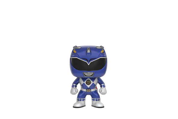Funko Pop! Television #363 - Mighty Morphin Power Rangers (MMPR) Blue Ranger Vinyl Figure