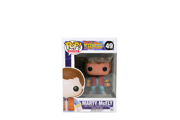 Funko Pop! Movies #49 - Back To The Future: Marty McFly Vinyl Figure
