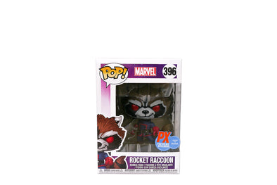 Pop! Marvel #396 - Guardians of the Galaxy Rocket Raccoon Vinyl Figure - PX Previews Exclusive