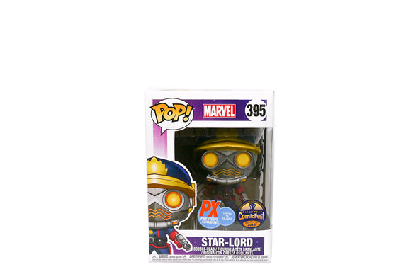 Funko Pop! Marvel #395 - Guardians of the Galaxy Star-Lord Vinyl Figure - PX Previews Exclusive