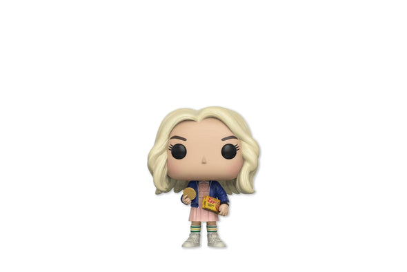 Funko Pop! Television #421 - Stranger Things Eleven with Eggos Chase (Long Blonde Hair) Vinyl Figure
