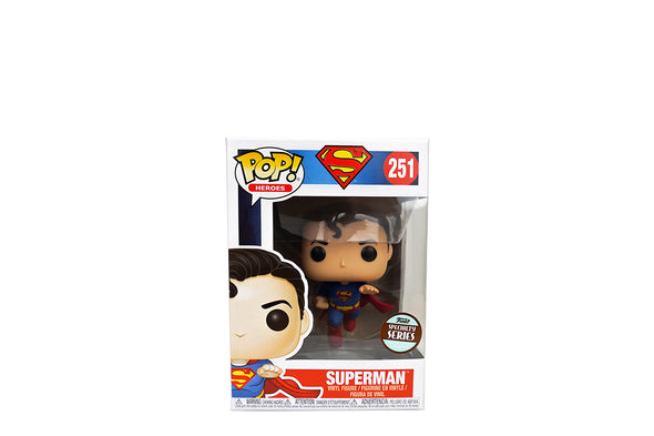 Funko Pop! Heroes #251: Flying Superman (80th Anniversary) - Specialty Series Exclusive