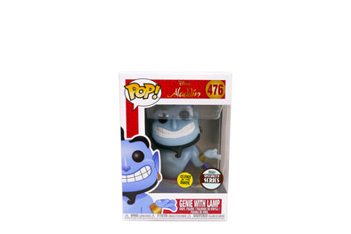 Funko Pop! Disney #476: Aladdin - Genie with Lamp (Glow) - Specialty Series Exclusive