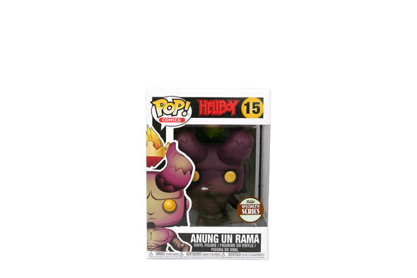 Pop! Comics #15 - Hellboy with Crown of Flames (Anung Un Rama) Vinyl Figure - Specialty Series Exclusive
