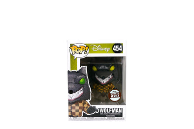 Funko Pop! Disney: The Nightmare Before Christmas: Wolfman Vinyl Figure - Specialty Series Exclusive