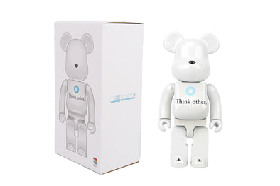 Medicom Toy 400% Be@rbrick - I Am Other (Think Other) Bearbrick Figure Vinyl Toy