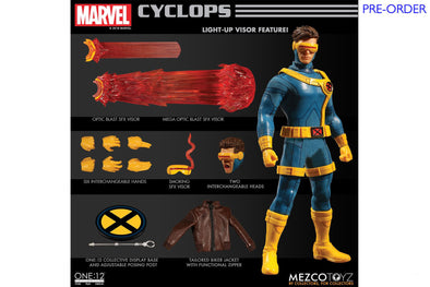 Mezco Toyz One:12 Collective - Marvel Cyclops Figure - PRE-ORDER