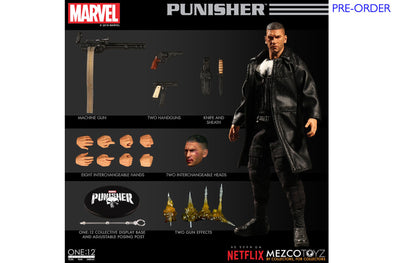 Mezco Toyz One:12 Collective - Netflix Punisher Figure - PRE-ORDER