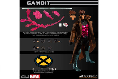 Mezco Toyz One:12 Collective - Marvel Gambit Figure