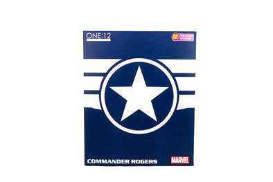 Mezco Toyz One:12 Collective - Marvel's Commander Rogers Figure - PX PREVIEWS Exclusive!