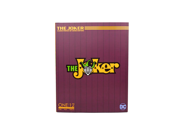 Mezco Toyz One:12 Collective - DC Universe The Joker: Clown Prince of Crime Edition Figure