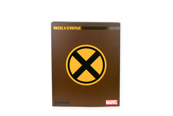 Mezco Toyz One:12 Collective - Marvel Wolverine (Brown Suit) Figure