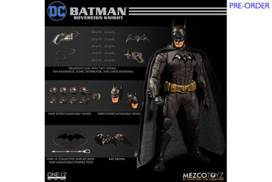 Mezco Toyz One:12 Collective - DC Universe Batman: Sovereign Knight Figure - PRE-ORDER