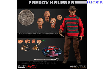 Mezco Toyz One:12 Collective - A Nightmare on Elm Street: Freddy Krueger - PRE-ORDER