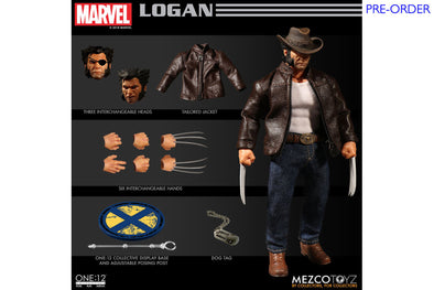 Mezco Toyz One:12 Collective - Logan (Wolverine) Figure - PRE-ORDER