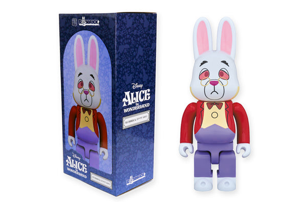 Medicom Toy 400% R@bbrick - Alice in Wonderland: The White Rabbit Rabbrick