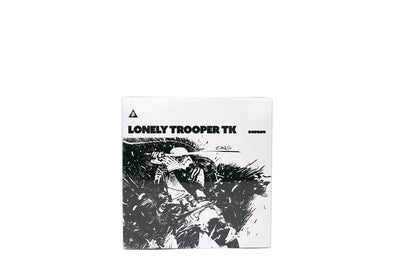 ThreeA 3A 1/12th Scale Collectible Series - Tomorrow Kings: Lonely Trooper Sergeant White Figure