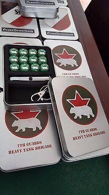 7th Guards Heavy Tank Brigade Dice tin