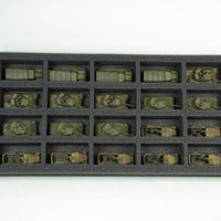 Flames of War 20 Small Vehicle Foam Tray (BFM) 15.5W x 8L x 1.5H