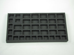 Flames of War US Armored Rifle or Rifle Company with HMG Platoon Foam Tray (BFM) 15.5W x 8L x 1H
