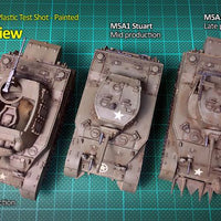 M5A1 Stuart/M8 Scott Rubicon- Blitz and Peaces