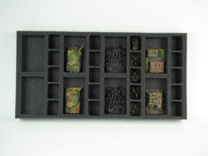 Flames of War 8 Artillery 20 Support Foam Tray (BFM) 15.5W x 8L x 1.5H