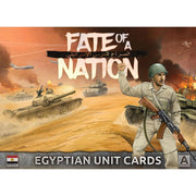 AAR901 Unit Cards – Egyptian Forces in the Middle East