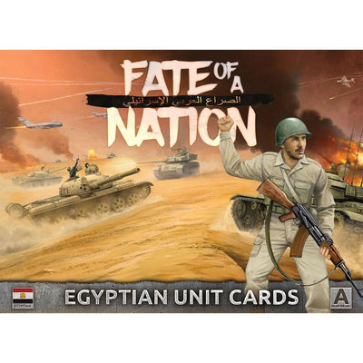 AAR901 Unit Cards – Egyptian Forces in the Middle East Battlefront- Blitz and Peaces