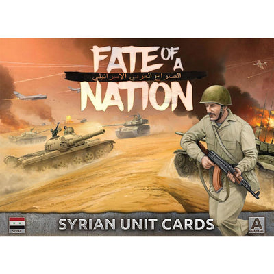 AAR902 Unit Cards – Syrian Forces in the Middle East Battlefront- Blitz and Peaces