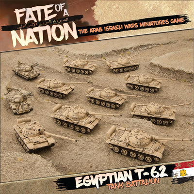 AARAB1 Egyptian T-62 Tank Battalion Battlefront- Blitz and Peaces