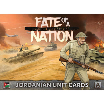 AJO901 Unit Cards – Jordanian Forces in the Middle East Battlefront- Blitz and Peaces