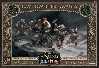 Cave Dwellers Savages CMON- Blitz and Peaces