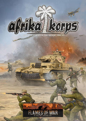 FW242 Afrika Korps Battlefront- Blitz and Peaces