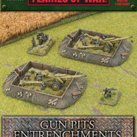 Entrenchments - Gun Pit Markers