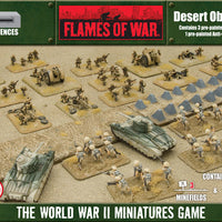 Desert Minefields and Anti-tank Obstacle