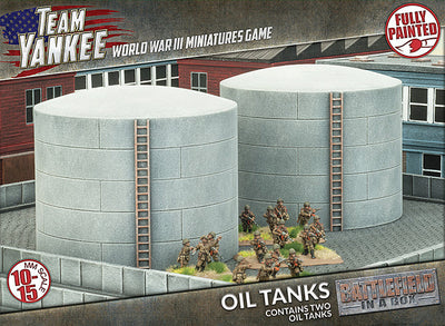 BB190 Oil Tanks