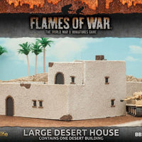 BB216 Large Desert House Battlefront- Blitz and Peaces