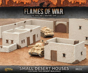 BB222 Small Desert Houses Battlefront- Blitz and Peaces