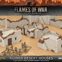 BB230 Ruined Desert Houses Battlefront- Blitz and Peaces