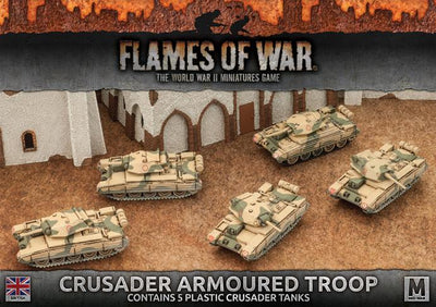 BBX39 Crusader Armoured Troop