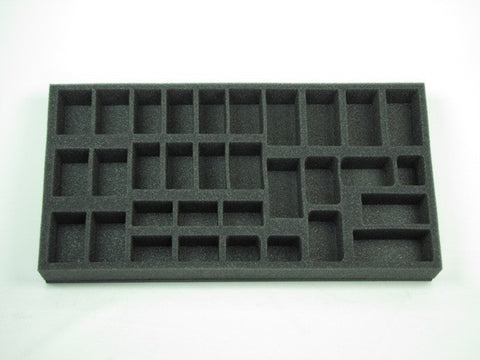 Flames of War British Armored Car Patrol Foam Tray (BFM) 15.5W x 8L x 1.5H