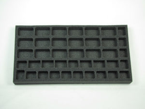 Flames of War British Rifle Company Foam Tray (BFM) 15.5W x 8L x 1H