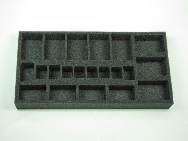 Flames of War British Royal Artillery Foam Tray (BFM) 15.5W x 8L x 1.5H